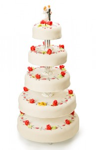 Bröllopstårta Förslag 3