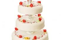 Bröllopstårta – Förslag 3