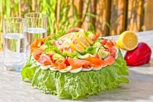 Smörgåstårta Rondell miljöbild