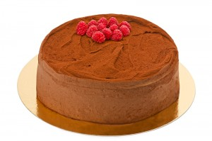 Danskchokladtårta