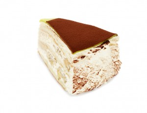 Banazatårta bit