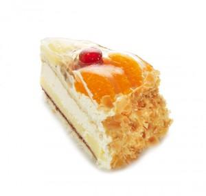 Frukttårta bit