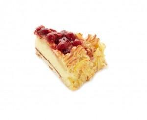 Margaretatårta bit