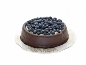 Muffinstårta blåbär