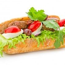 Valhalls special baguette