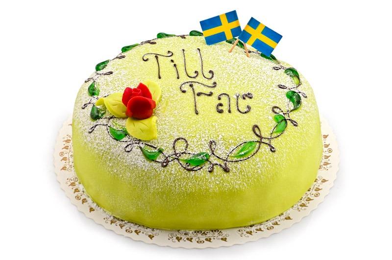 Fars dags tårta