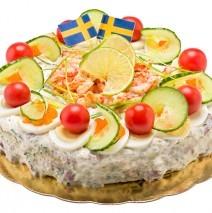 Midsommar tårta